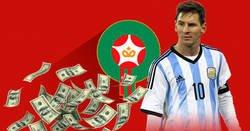 Enlace a Messi le hizo ahorrar medio millón de euros a la federación de Marruecos