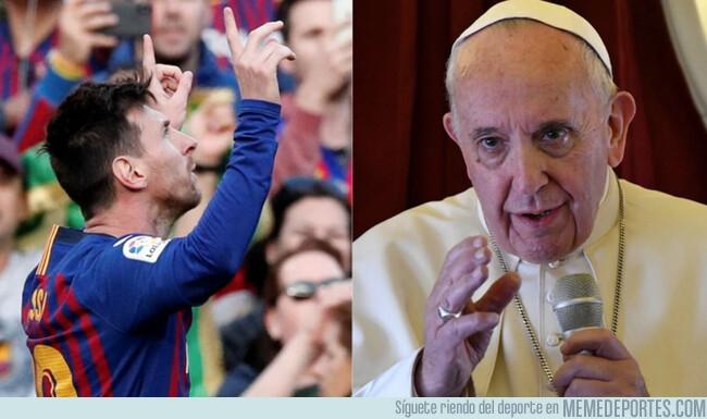 1070056 - Cuando al Papa le preguntas si Messi es Dios