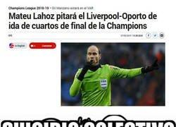 Enlace a Pobres aficionados del Liverpool y el Oporto...