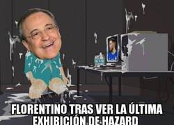 Enlace a El partidazo de Hazard ante el West Ham habrá gustado a Florentino