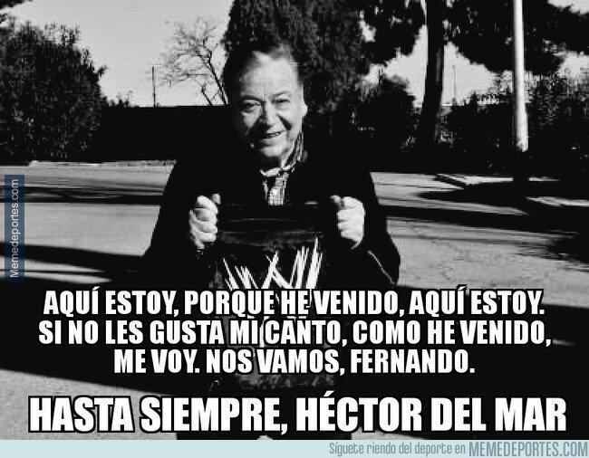 1070783 - Fallece el comentarista Héctor del Mar, DEP.