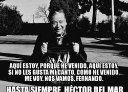 Enlace a Fallece el comentarista Héctor del Mar, DEP.