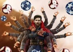 Enlace a Messi en la actual temporada, por @_designsfootball
