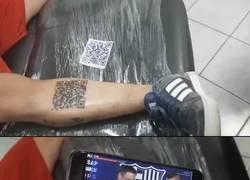 Enlace a El QR que me tatuaría