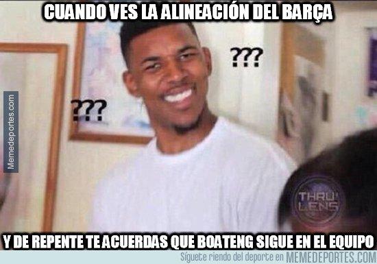 1071272 - ¿Pero Boateng todavía juega en el Barça?