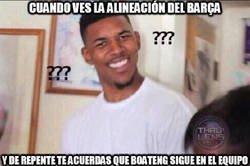 Enlace a ¿Pero Boateng todavía juega en el Barça?