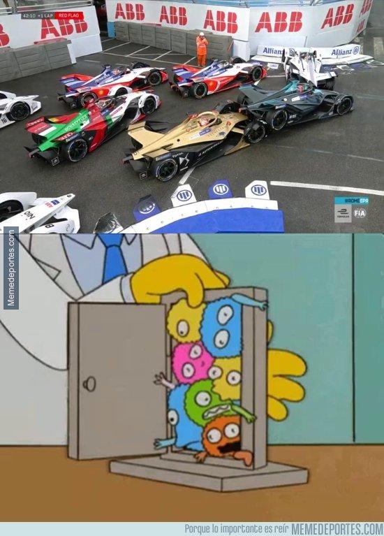 1071282 - Los Simpson ya predijeron la montonera en la Formula E, por @stefifm