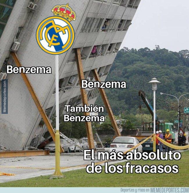 1071555 - Benzema es el único que sostiene al Madrid