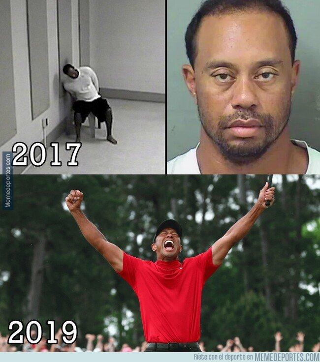 1071881 - El impresionante cambio de Tiger Woods en 2 años