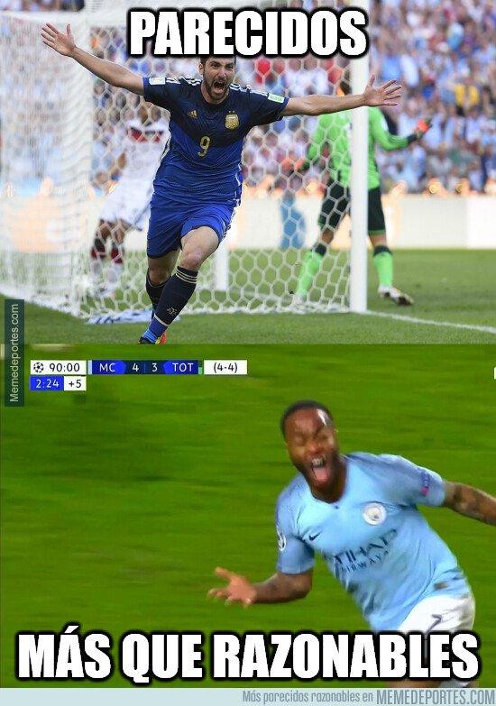 1071915 - Las reacciones del gol de Sterling anulado al Tottenham ya las hemos vivido...