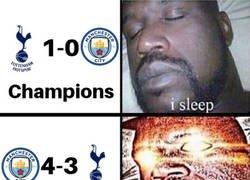 Enlace a El City-Tottenham vuelve a ser tranquilo
