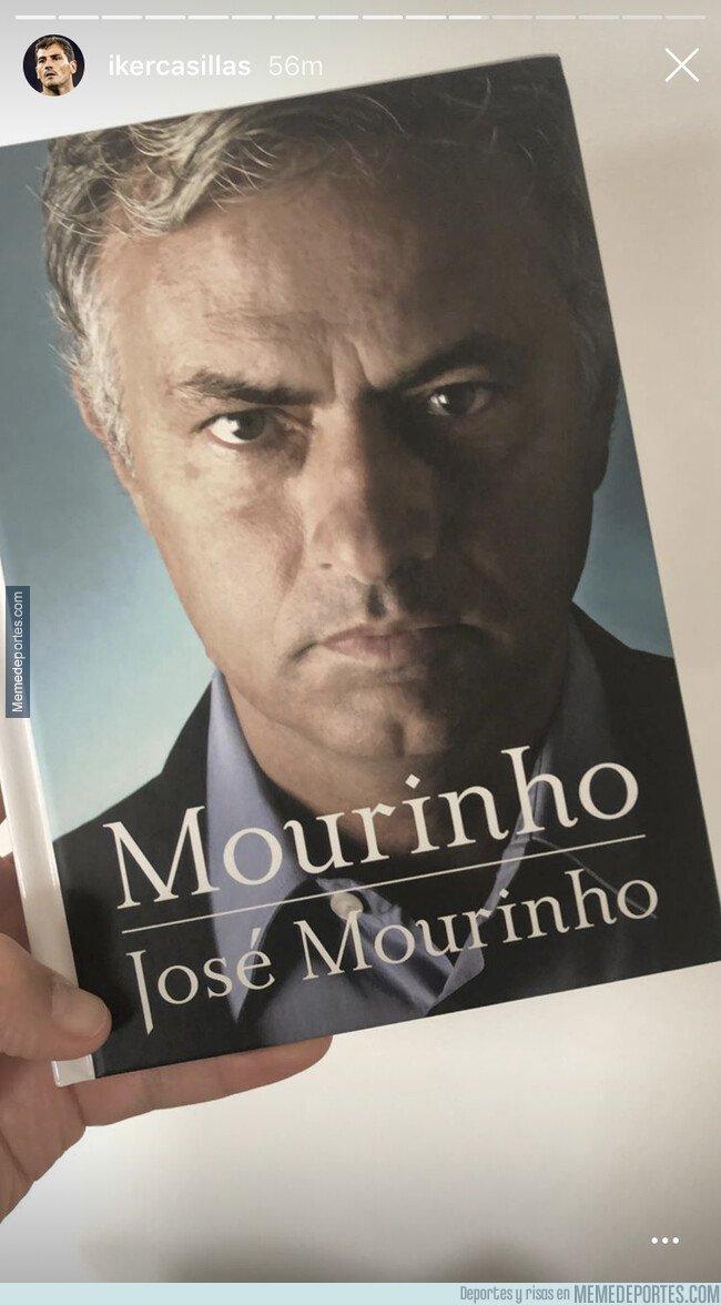 1072380 - Interesante historia de Casillas por el día del libro. ¿No le guarda rencor a Mourinho a pesar de las controversias?