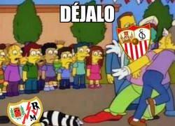 Enlace a El Sevilla pasó por encima de un desahuciado Rayo