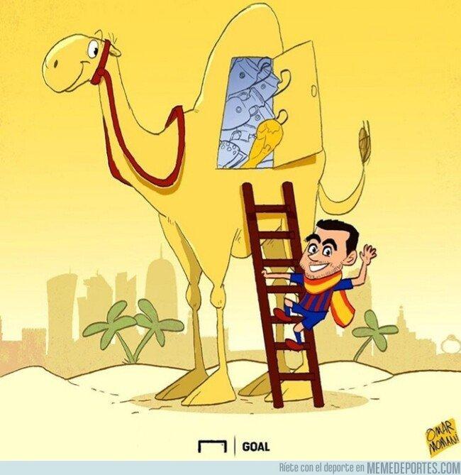 1073477 - Xavi cierra en Qatar una carrera llena de éxitos, por @goalglobal