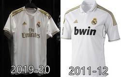 Enlace a El diseño dorado vuelve al Real Madrid despues de 7 años