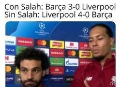 Enlace a Salah, queremos una explicación
