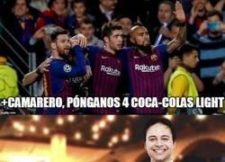 Enlace a Los jugadores culés no pueden tomar Coca-Cola durante unos días