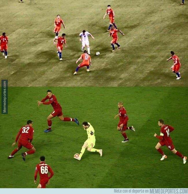 1074229 - Los de rojos saben cómo parar a Messi