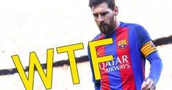 Enlace a Muy mal por Messi de no ir a cabecear sus propios centros...