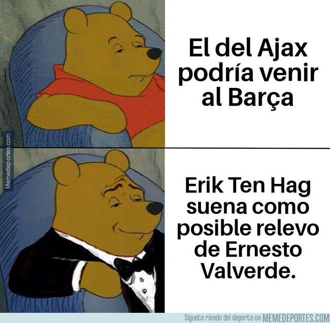 1074494 - Ten Hag, más conocido como 'El del Ajax', podría llegar al Barça