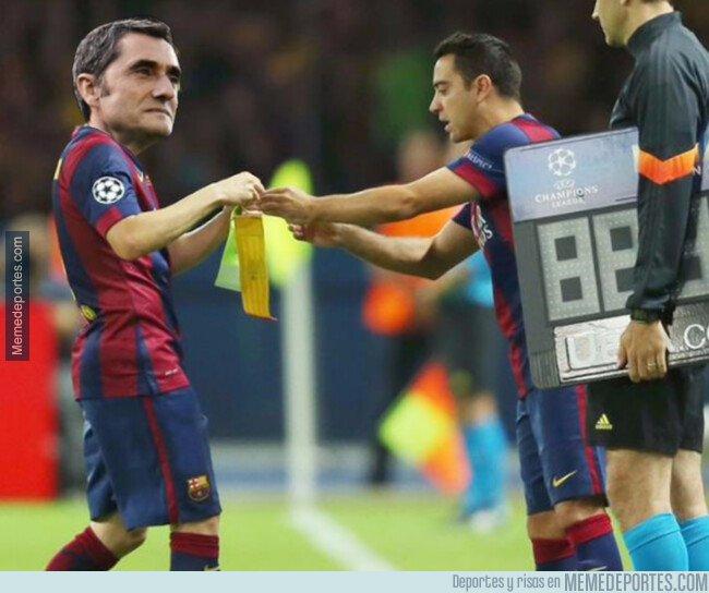 1074498 - Posible cambio en el Barça. ¿Sale Valverde y entra Xavi?