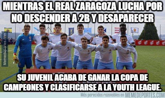 1074671 - Menudas dos caras las del Real Zaragoza