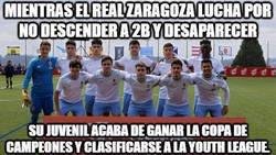 Enlace a Menudas dos caras las del Real Zaragoza