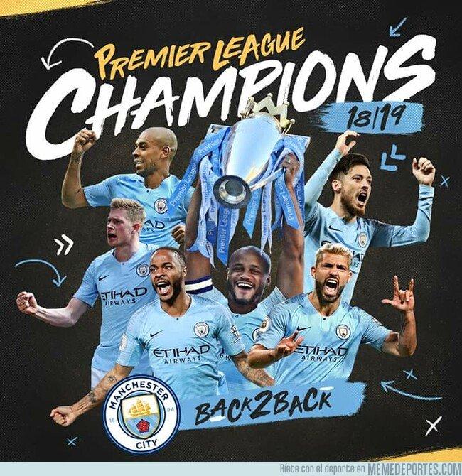1074774 - Manchester City bicampeón de la Premier