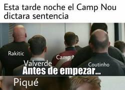 Enlace a Día de sentencia en el Camp Nou