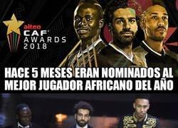 Enlace a Salah, Mané y Aubameyang, los africanos que se han pasado la Premier