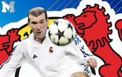 Enlace a El Real Madrid recuerda el gol de volea de Zidane en la novena y el Bayer 04 Leverkusen no puede resistirse a responder