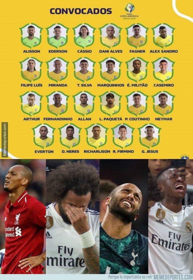1075354 - Algunos cracks imporantes se quedan fuera de la selección brasileña