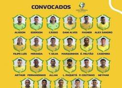 Enlace a Algunos cracks imporantes se quedan fuera de la selección brasileña