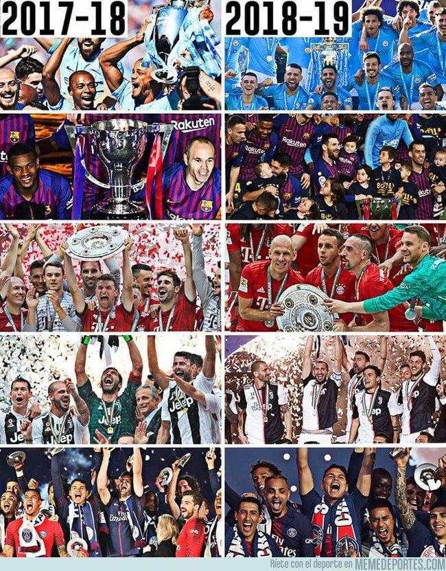 1075674 - En las ligas Top 5 de Europa no hubo cambio de corona
