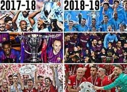 Enlace a En las ligas Top 5 de Europa no hubo cambio de corona