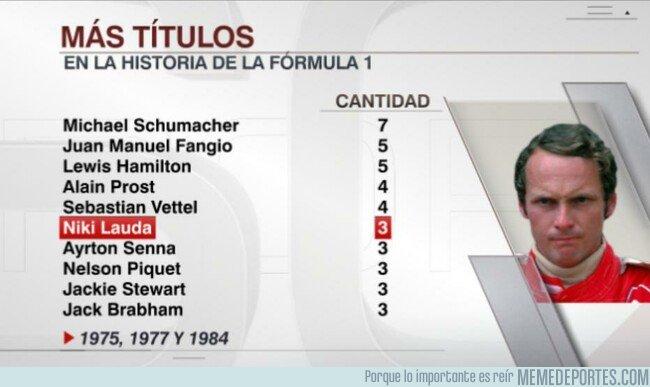 1075797 - Niki Lauda sube peldaños en Fórmula 1