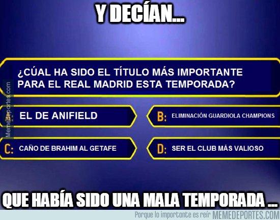 1075803 - Los grandes títulos del Madrid esta temporada