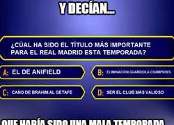 Enlace a Los grandes títulos del Madrid esta temporada