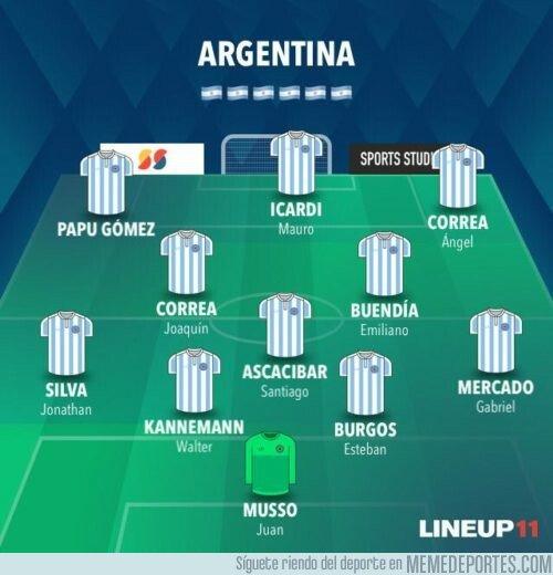 1075881 - El once de ausencias argentinas para la Copa América