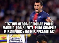 Enlace a El Madrid es la pesadilla de Dani Alves