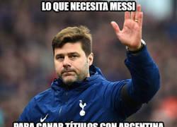 Enlace a La posible solución para Messi