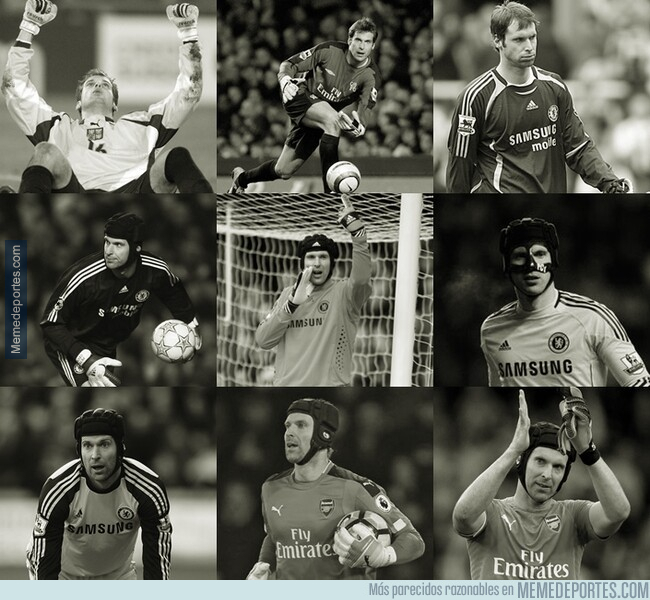 1076455 - A ver, que Cech juega hoy su último partido de fútbol y vosotros ahí como si nada