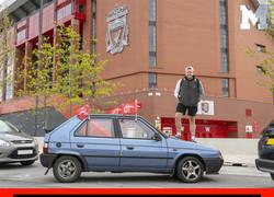Enlace a Fan del Liverpool se compra un coche de 40 libras en vez de gastar 800 en un vuelo a Madrid