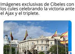 Enlace a Los aficionados del Barcelona cumplen la promesa