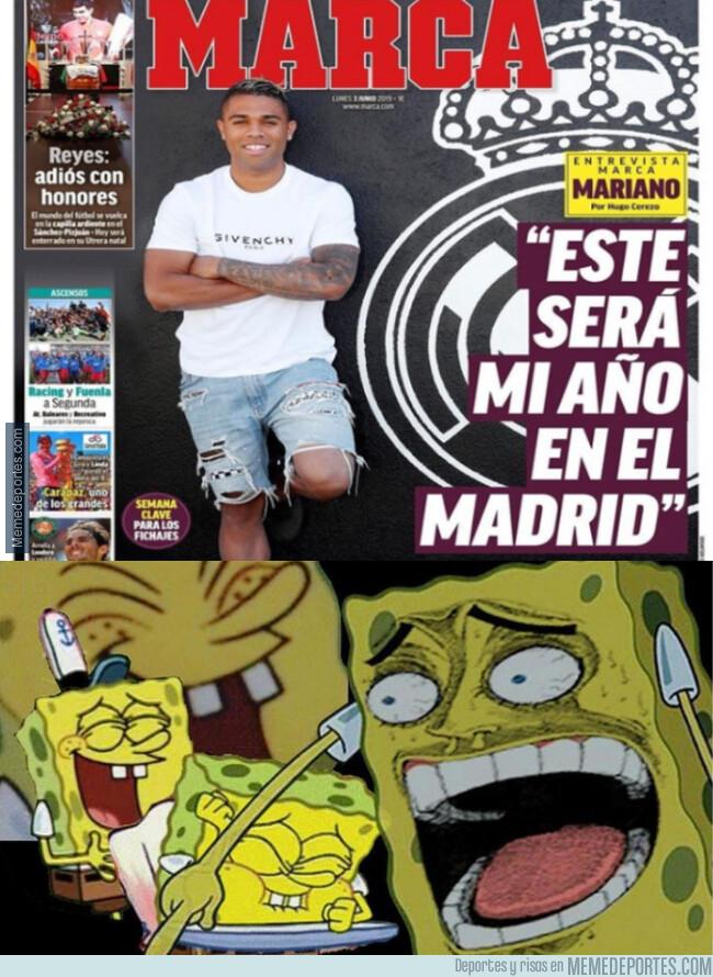 1077063 - Mariano dice que será su año... ¿en el Madrid?
