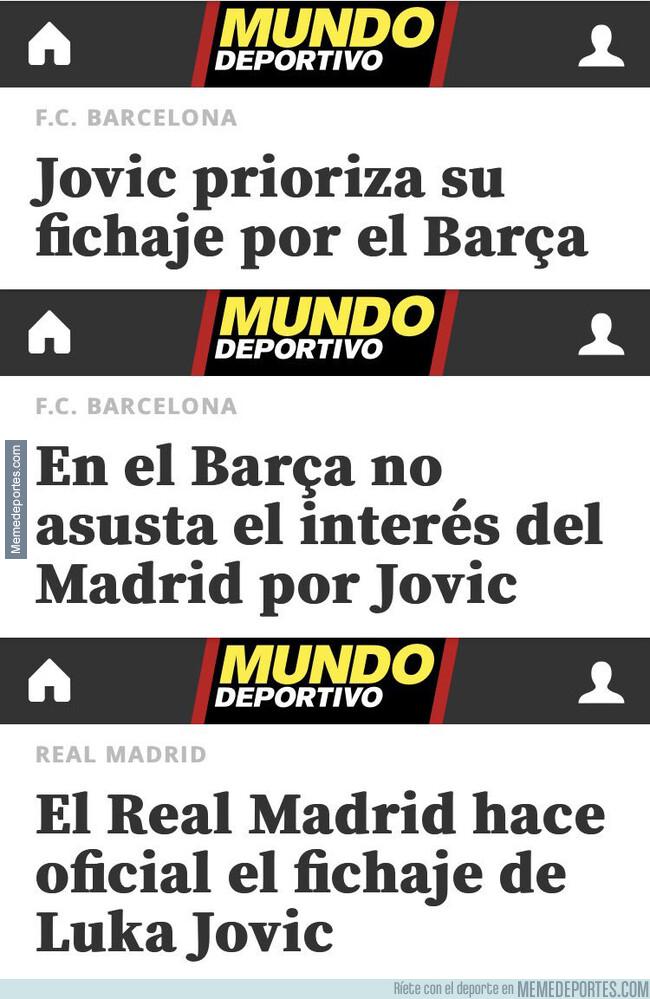 1077107 - 'Mundo Deportivo' siempre ha informado de forma correcta sobre Jovic y su fichaje