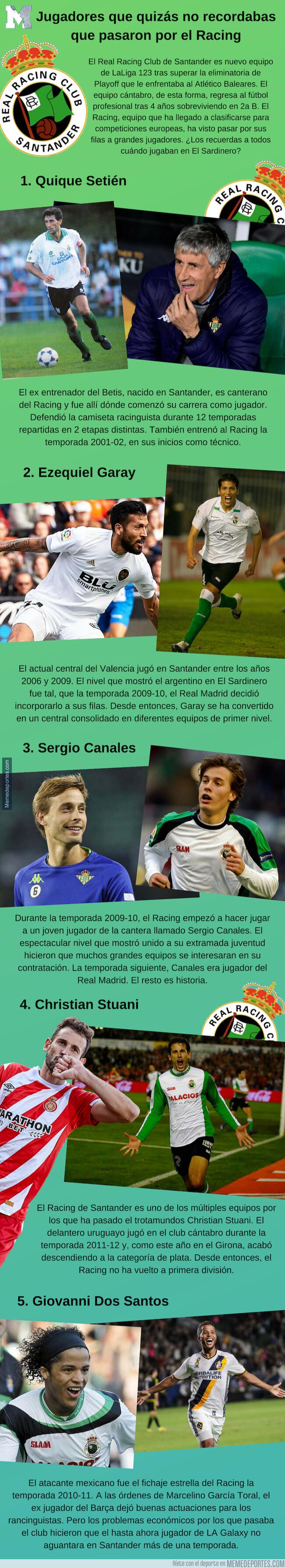 1077127 - Jugadores que quizás no recordabas que pasaron por el Racing de Santander