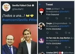Enlace a Sevilla, lo habéis dejado a huevo... Vía @joeybartonunfanmas