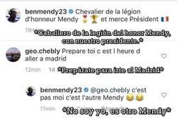 Enlace a Confunden a Benjamin Mendy con el fichaje del Madrid y le toca salir a aclararlo