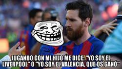 Enlace a Messi no tiene un hijo, tiene un pedazo de Troll